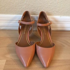 Enzo Angiolini pointed toe strapped shoe